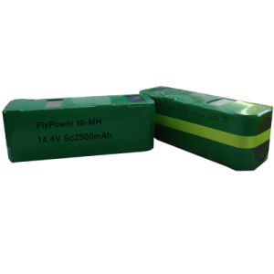 14.4V Sc2500mAh Ni-MH High Power Rechargeable Battery Pack for Vacuum Cleaner (12S of FH-Sc2500P)