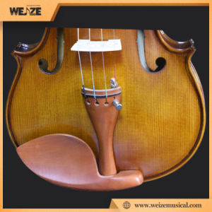 Hot Sale for South Koreacoffee Color Violin 4/4 pictures & photos