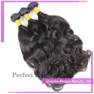 Double Thickness High Quality Wholesale Brizilian Virgin Hair Bundles pictures & photos