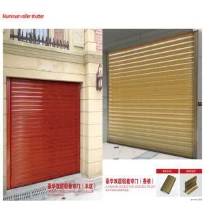 Automatic 304 Stainless Steel Roller Shutter Security Door (HF-J03) pictures & photos