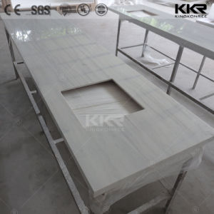 Solid Surface acrylic Resin Kitchen Tops Tables Manufacturer pictures & photos