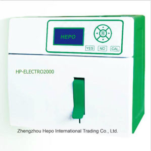 Automatic Medical Equipment Electrolyte Analyzer pictures & photos