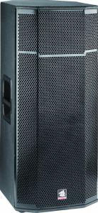 Dual 15 Inch PRO Full Range System Wooden DJ Passive Speaker pictures & photos