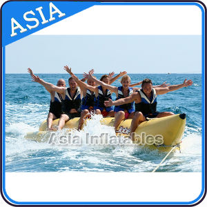 6-8 Passenger Banana Boat for Water Park Towable Games pictures & photos