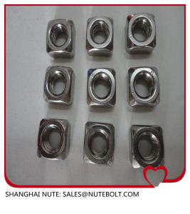 Stainless Steel 304 316 Square Nut DIN557 pictures & photos
