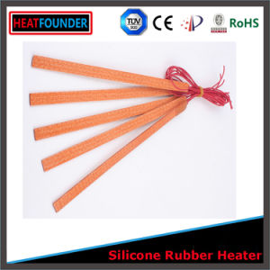 Thermal Heat Electricial Silicone Rubber Heating Mat pictures & photos