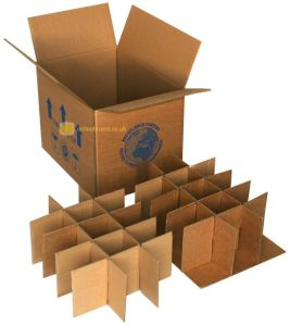 Cardboard Rectangular Paper Box for Glasses Cup Packaging pictures & photos