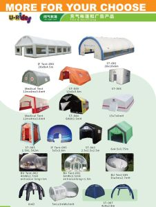 White Giant Inflatable Tent with Flap for tennis court or event pictures & photos