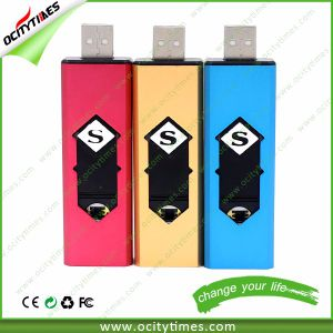 No Flame No Gas USB Lighter Rechargeable Cigarette Lighter USB with Memory pictures & photos