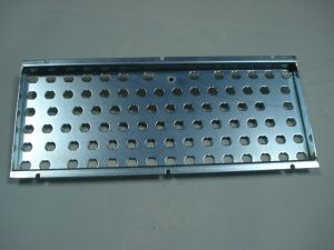 Bilateral Metal Steel Fixed Support Bracket Metal Stamping Parts (ZX-S313) pictures & photos