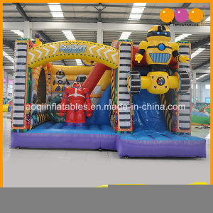 Robot Bouncer Inflatable Trampoline Combo with Slide (AQ01759) pictures & photos