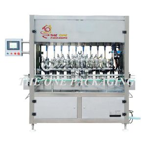 China Supply Automatic Cream Filler Sauce Filling Machine pictures & photos