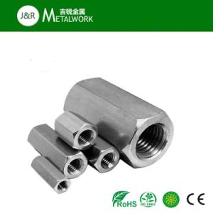 Galvanized Carbon Steel Stainless Steel Hex Coupling Nut (DIN6334) pictures & photos
