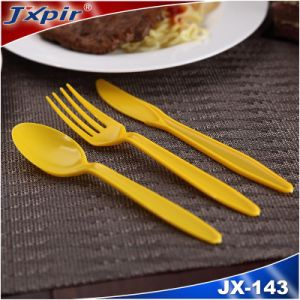 Reasonable & Acceptable Price White Plastic Cutlery Set pictures & photos