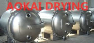 Round Type Vacuum Drying Machine pictures & photos