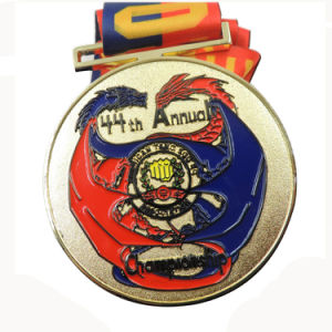 Cheap Custom Running Competition Award Medal with Ribbon pictures & photos