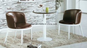 Comfortable Coffee Dining Table and Chair Set (LL-WST012) pictures & photos