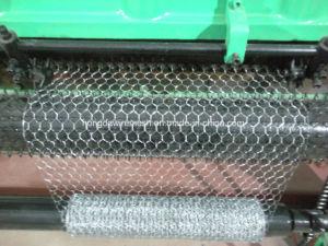 3/4′′, 1′′mesh, 3m Width Automatic Single Twist Hexagonal Wiremesh Machine pictures & photos