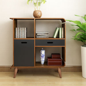Home Furniture Wooden Shaped Stoarge Cabinet with Drawer pictures & photos