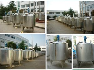 Food Sanitary 800L Stainless Steel Electric Mixing Tank pictures & photos