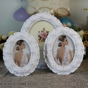 Polyresin European Photo Frame Classical Picture Frame for Wedding pictures & photos