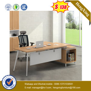 MDF Wooden Office Furniture L Shape Director Office Table/Desk (NS-D013) pictures & photos