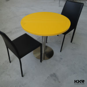 Restaurant Furniture Stone Clear Acrylic Table and Chairs pictures & photos