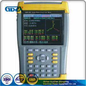 Handheld Energy meter Calibration Three Phase Unbalance Checking Phase Meter pictures & photos