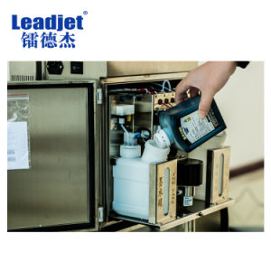 V98 Continuous Expiry Date Batch Code Inkjet Printer pictures & photos