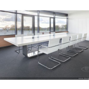 Hot Sale Boadroom Furniture 100% Solid Surface Conference Desk for 12 Seats pictures & photos