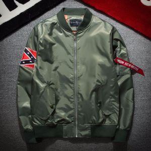 Windbreak Men′s Baseball Jacket Bomber Jackets Flight Jacket Ma1 Pilot Jacket pictures & photos
