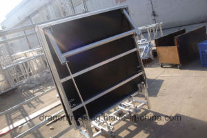 Aluminum Mobile Folding Stage Height: 0.4-0.6m/0.6-0.8m pictures & photos