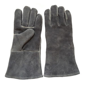Heavy Duty Welding Gloves with Ce En12477 pictures & photos