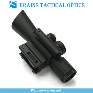 Compact 4x30 Rifle Scope Red Green Mil-DOT Reticle (M7) pictures & photos