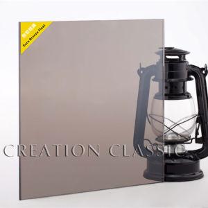 6mm Bronze/Coloor Float Glass for Glass Door with Certification pictures & photos