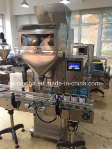 Semi Automatic Granule/Grain/Rice/Beans/Coffee/Nuts/ Filler Weighing Filling Packing Machine pictures & photos