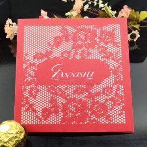 Fancy Offset Printing Paper Greeting Card Thank You Card Printing pictures & photos