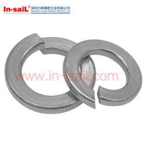 DIN127A Fine Quality Square Ends Spring Lock Washers Zinc Plated pictures & photos