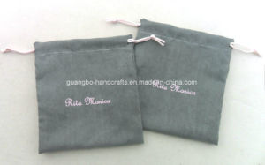 Customized Printed Microfiber Packing Drawstring Pouch pictures & photos