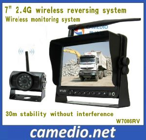 Hot- 7 Inch 2.4GHz Wireless Parking Assist System with Digital Screen pictures & photos