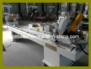 PVC Window Door Cutting Saw / UPVC Window Machine /Double Head Mitre Saw PVC Window Machine (SJ02-3500)