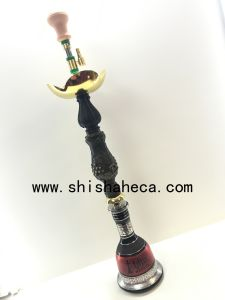 Top Quality Zinc Alloy Smoking Pipe Shisha Hookah pictures & photos