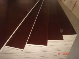 Brown/Black Film Faced Plywood Poplar Core for Shuttering/Concrete Usages pictures & photos