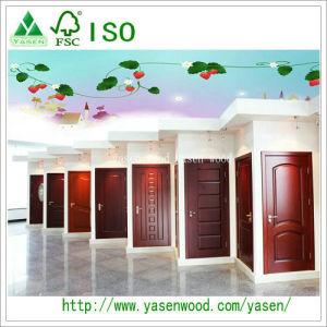 Customized Design Painted Wood Veneer Door