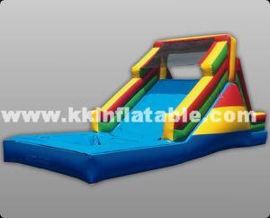 Inflatable Water Slide Rainbow Water Slide Inflatable Slide Pool