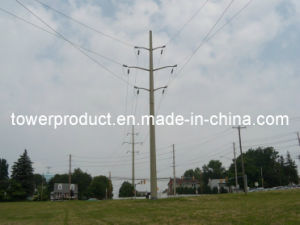69kv Power Transmission Line Monopole Steel Towers (MG-69MPT) pictures & photos