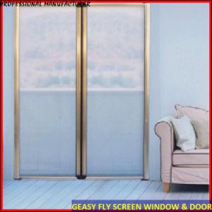 China retractable roller door screens china window fly for Roller fly screens for patio doors