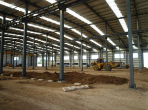 Prefabricated Steel Structure Workshop (SS-16)
