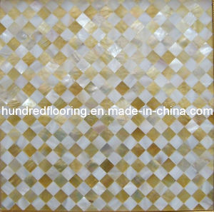 Mosaic Tile Mother of Pearl Shell Mosaic (HMP63) pictures & photos
