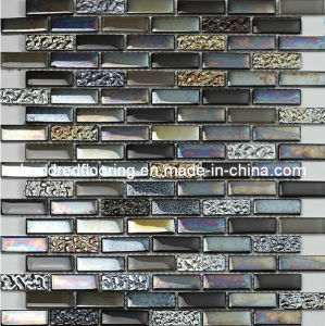 Strip Glass Mosaic Kitchen Tile (HGM265) pictures & photos